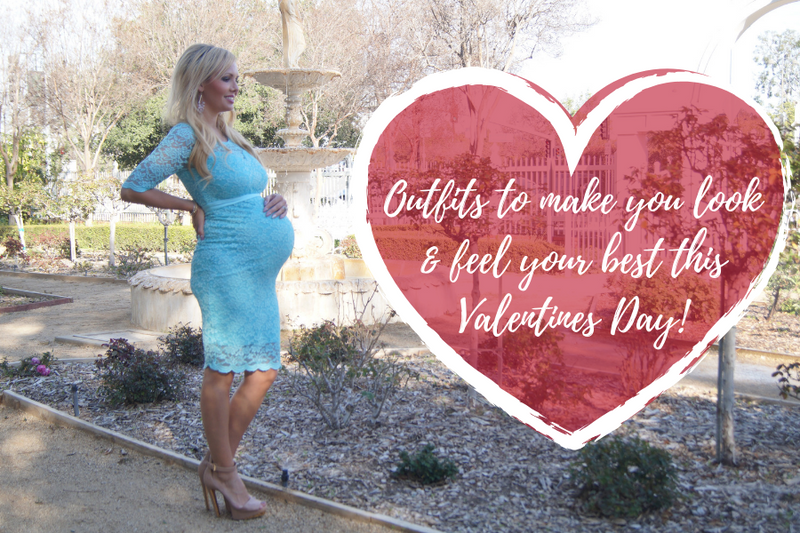 5 MATERNITY SETS THAT WILL MAKE YOU FEEL AT YOUR BEST ON VALENTINE'S DAY