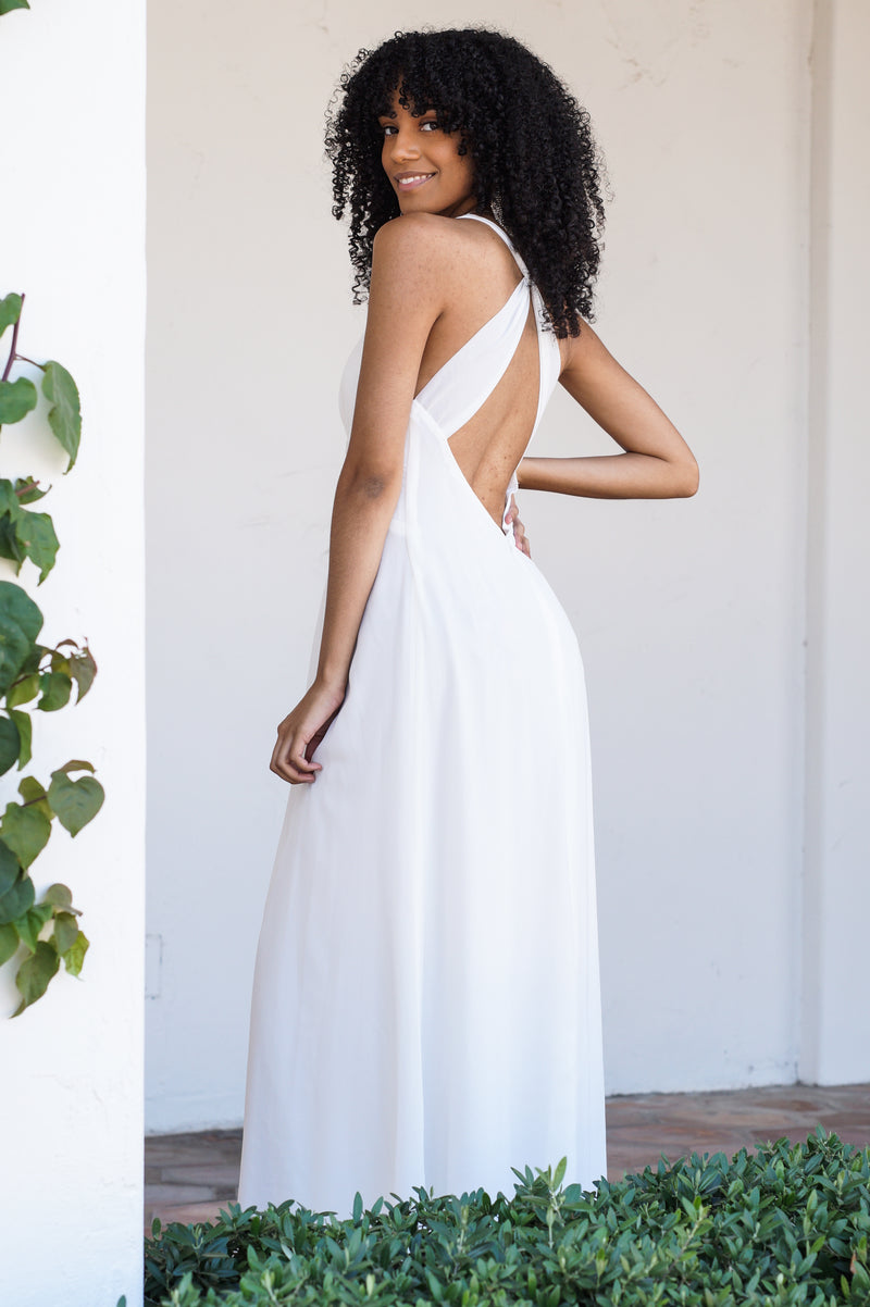 Open Back Evening Gown - Mommylicious