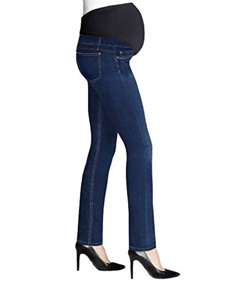 side view maternity jeans