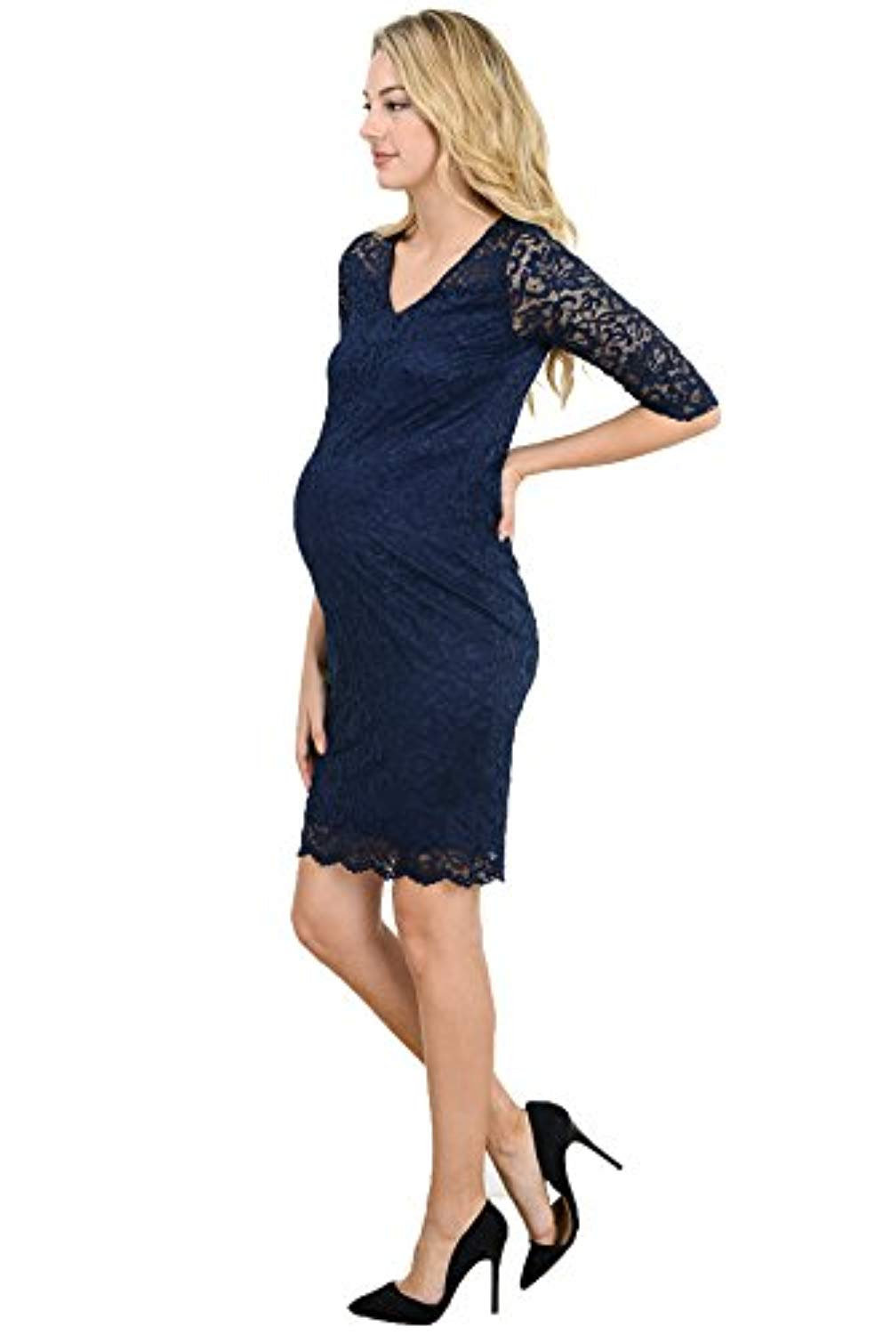 knee length baby shower dress