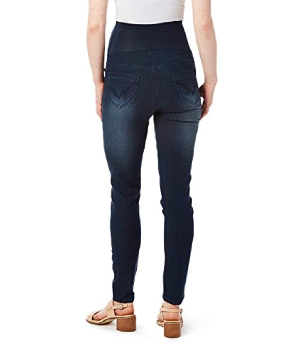 back view skinny maternity jeans