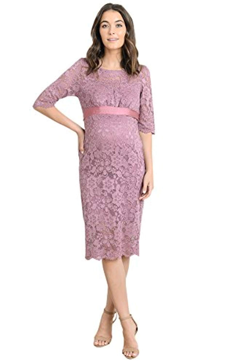 Mauve Baby Shower Dress - Mommylicious