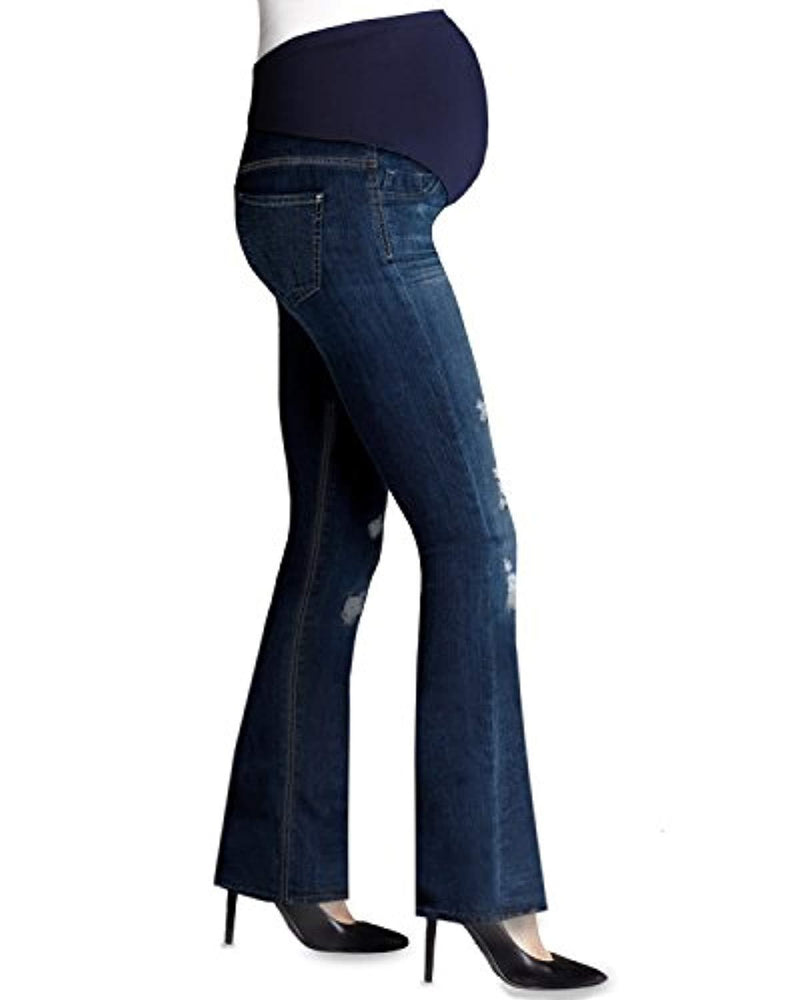 bootcut maternity jeans full panel