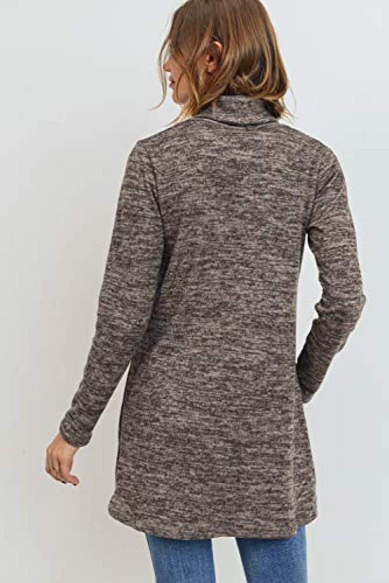 Long Sleeve Maternity Tunic Top - Mommylicious