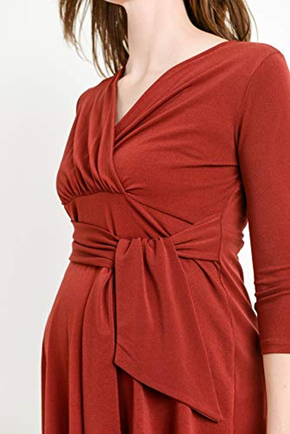 Belted Maternity and Nursing Top