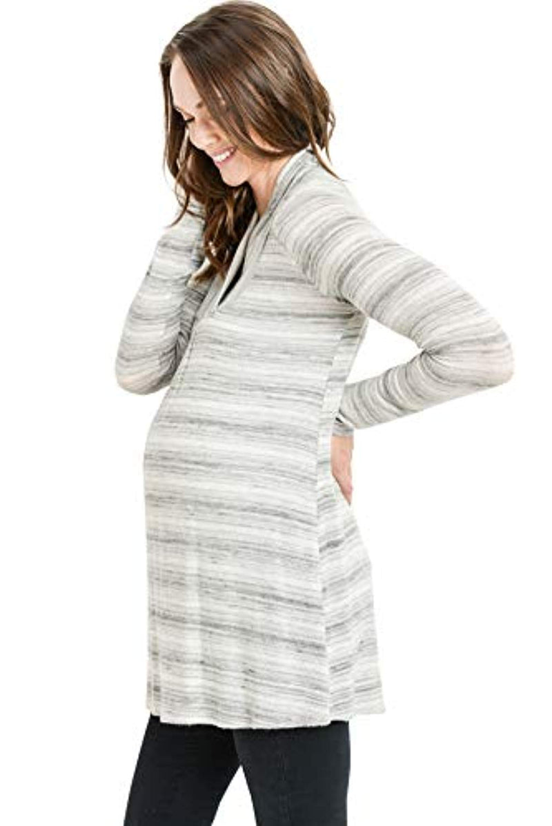 Stripes Maternity Tunic Top - Mommylicious