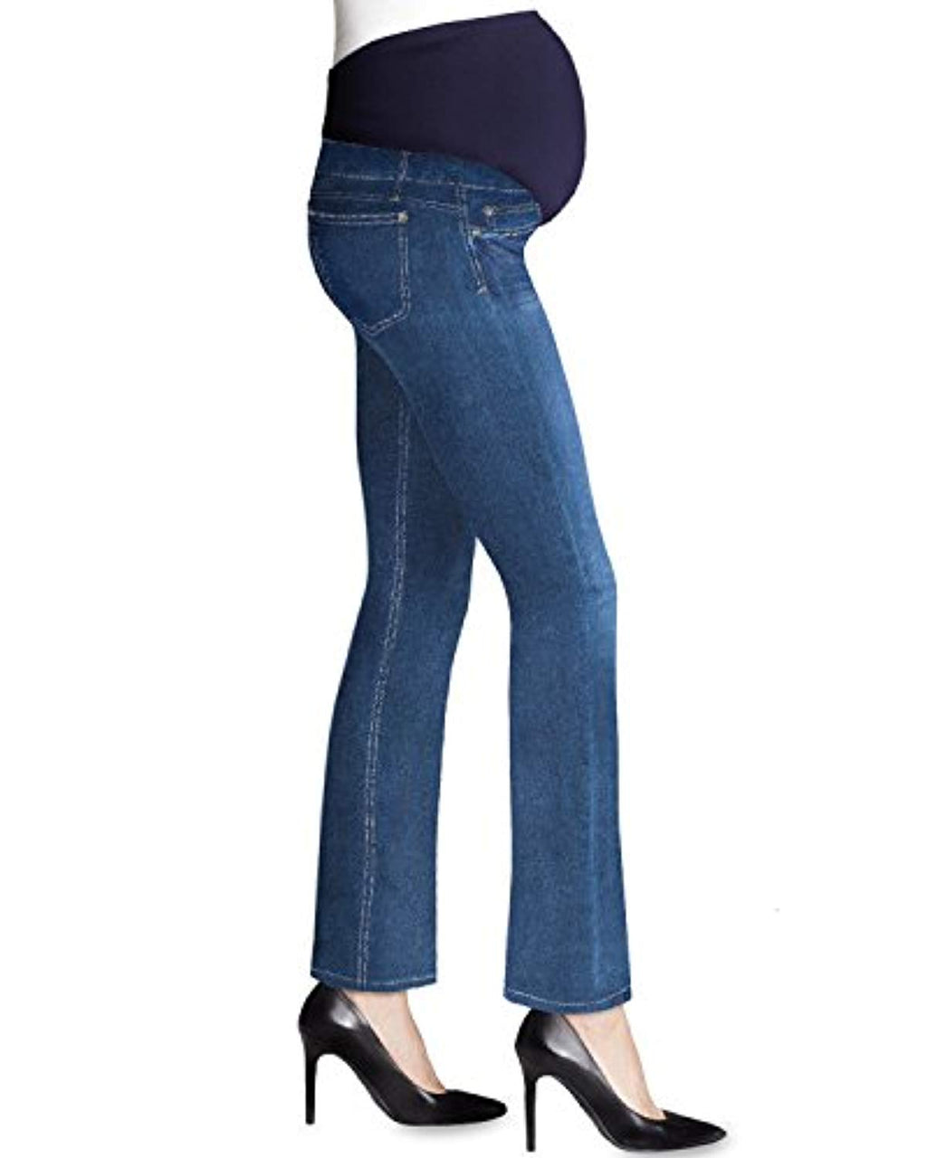 full panel bootcut maternity jeans