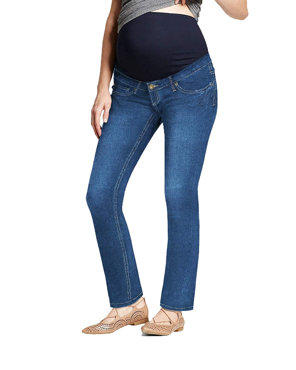 bootcut maternity jeans