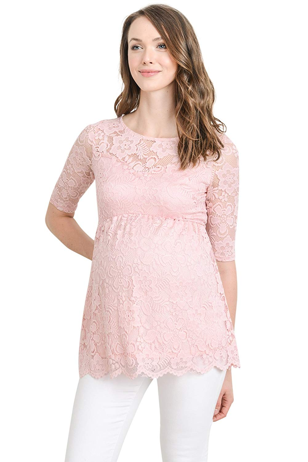 Lace Maternity Tops