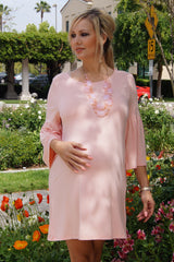 Bell Sleeve Everyday Maternity Dress