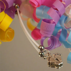 Pregnancy Belly Button Rings-Little Feet
