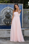 Strapless Formal Dress