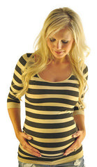 Striped Maternity Tops