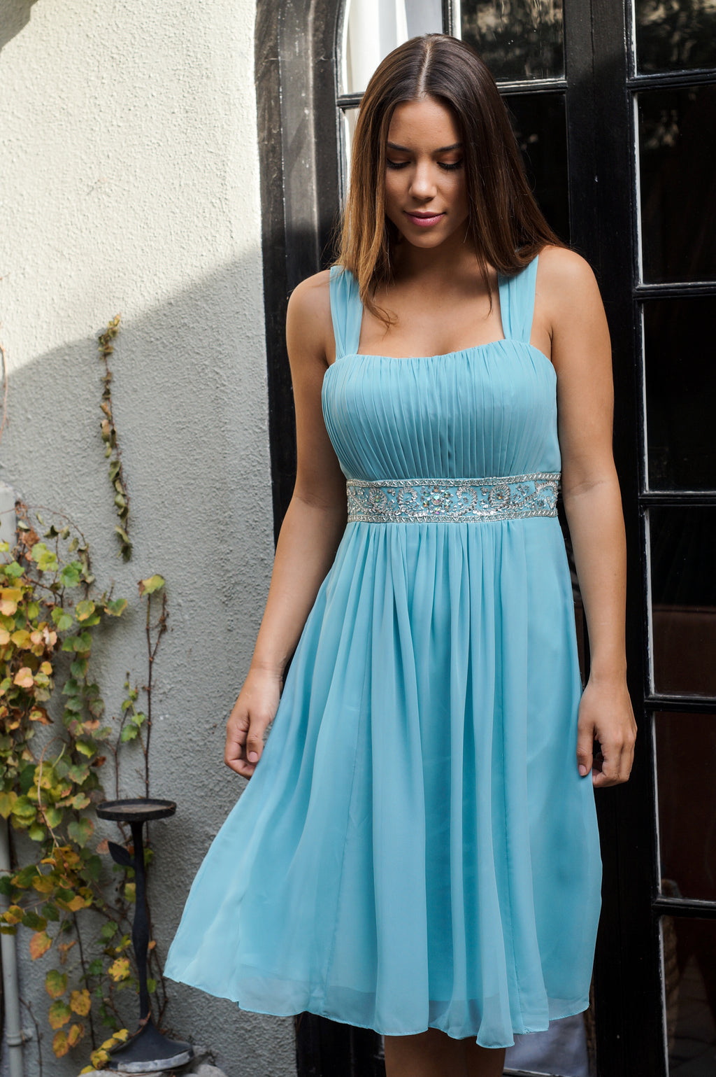 Knee-Length Formal Dress