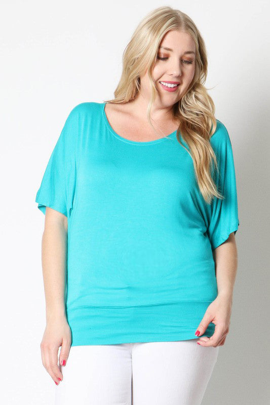 Plus Size Maternity Dolman - Mommylicious