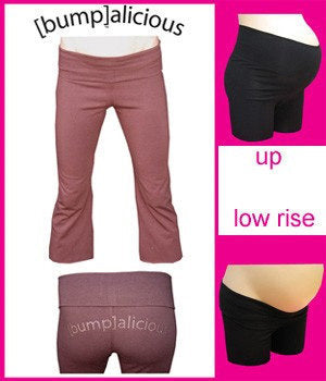 Bumpalicious maternity active wear sets