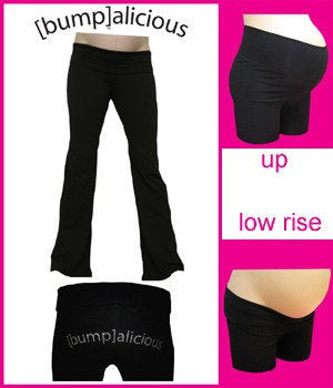 Maternity Yoga Pants-Bumpalicious