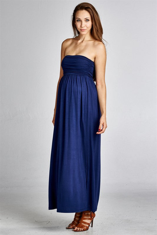 Strapless Beauty Maxi - Mommylicious