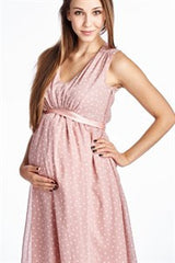 Itty Bitty Polka Dot Maternity Dress