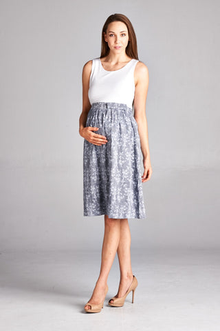 Skirt Maternity Dress
