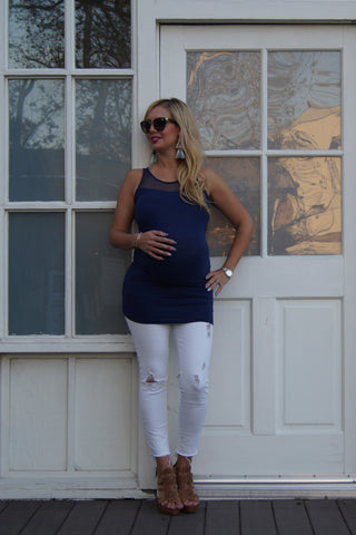 Show Me Some Shoulder Maternity Top