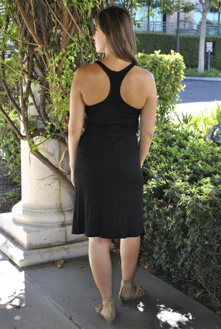 Racer-Back Tank Maternity Dress