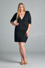 Little Black Maternity Dress