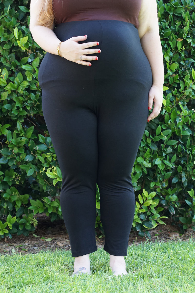 Plus Maternity Leggings - Mommylicious