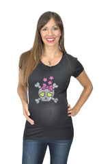 Plus Size Maternity Top - Girls Rocks