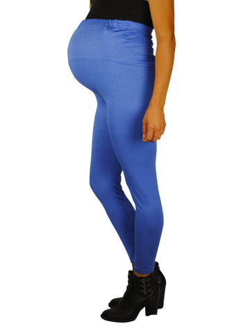 Blue  Maternity Leggings