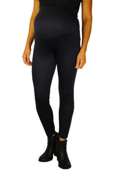 Navy Maternity Leggings