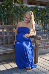 Lace in my Tiers Maternity Maxi Dress