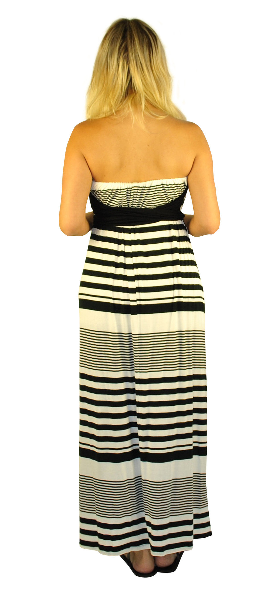 Striped Maternity Dresses