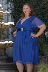 plus size maternity gown