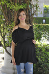 Strappy-Back Maternity Tunic - Mommylicious