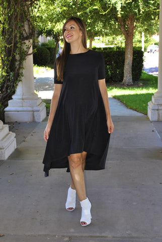 High Low T-Shirt Dress