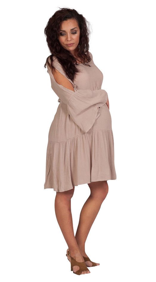 Gray Baby Shower Maternity Dresses