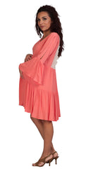 Peach Baby Shower Maternity Dresses