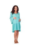 Sky Blue Baby Shower Maternity Dresses