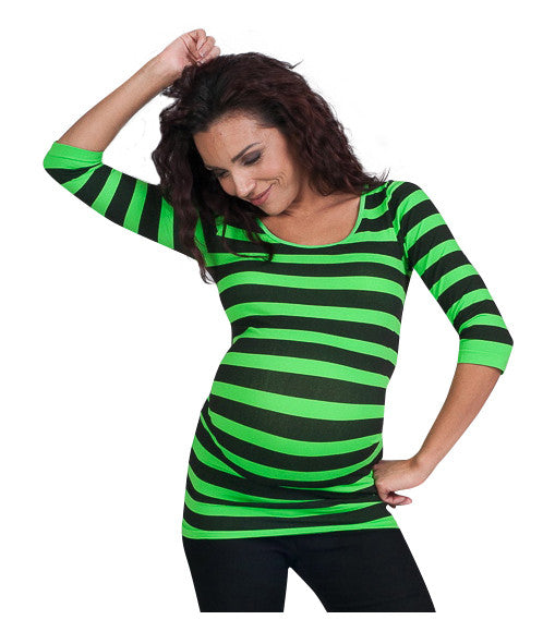 Striped Maternity Tops - Back To Basics - Mommylicious
