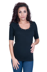 My Heart Stud Maternity Tops