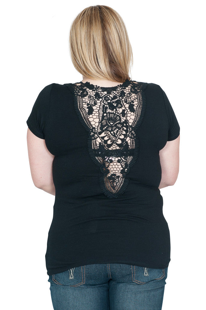 Plus Size Maternity Top - Mommylicious