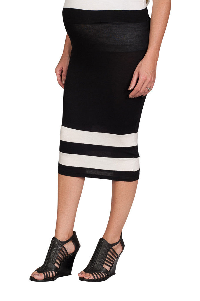 Maternity Pencil Skirt - Mommylicious