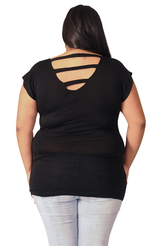 Black Maternity Tops-See It Through