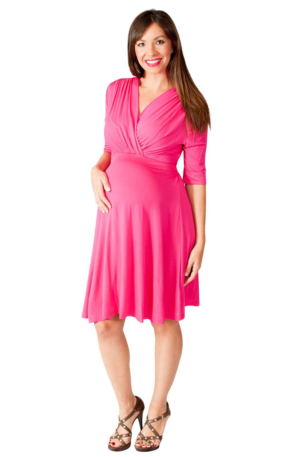 pink baby shower dresses