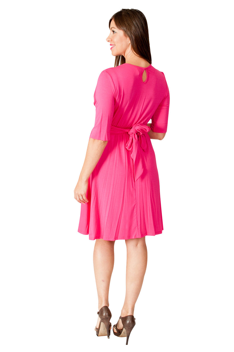 Maternity Wrap Dress - Mommylicious