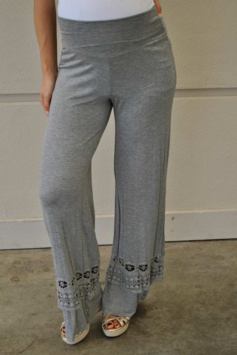 V.I.Peace Plus Size Maternity Pants - Mommylicious