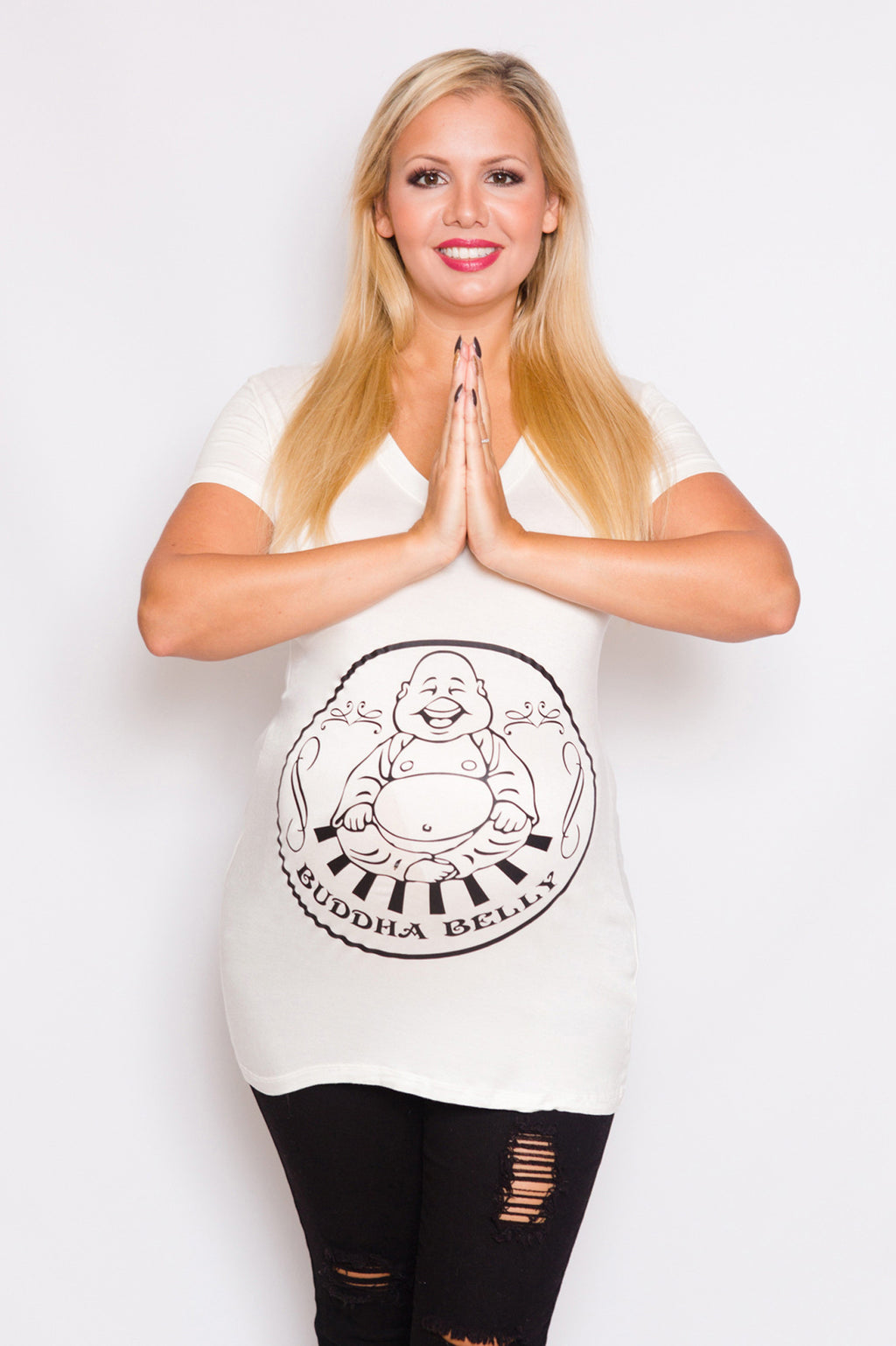 Funny Maternity Top - Mommylicious
