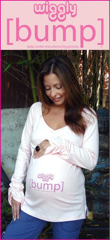 Tunic Maternity Tops-Wiggly [bump]
