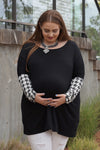 Plus Size Maternity Tunic - Mommylicious